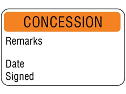 Concessions quality assurance label