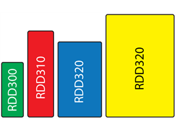 Resin domed labels, custom printed (rectangle shaped), 4 formats.