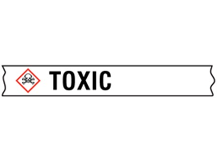 Toxic GHS tape.