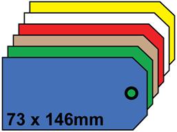 Plain tags, size 7.