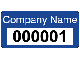 Serial Number Computer Asset Tags
